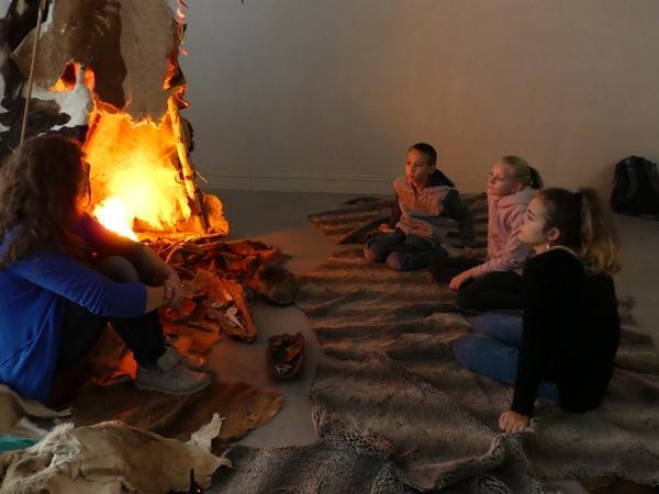Activité feu / Fire animated activity