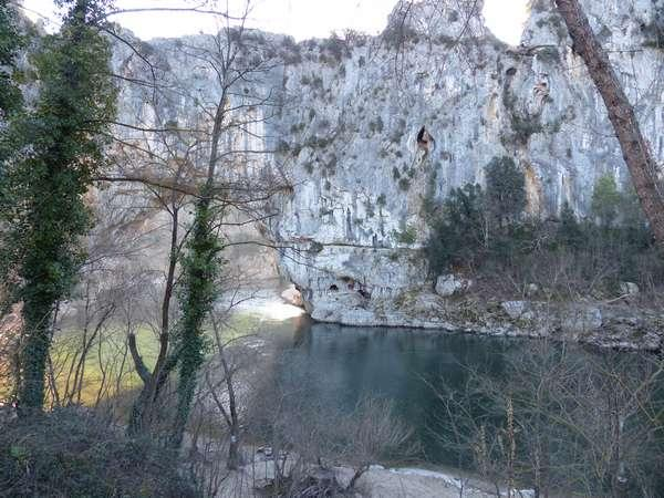 dans les gorges / In the gorge
