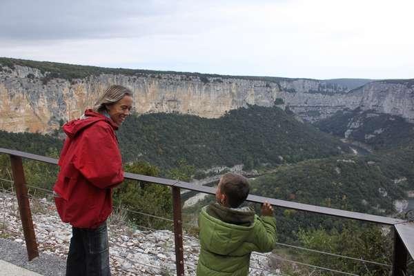 Les gorges sont également sublimes en hiver / the gorge is equally sublime in winter
